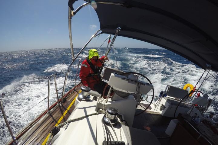 Атлантически океан - яхта - кокпит - управление на яхта - ARC Europe