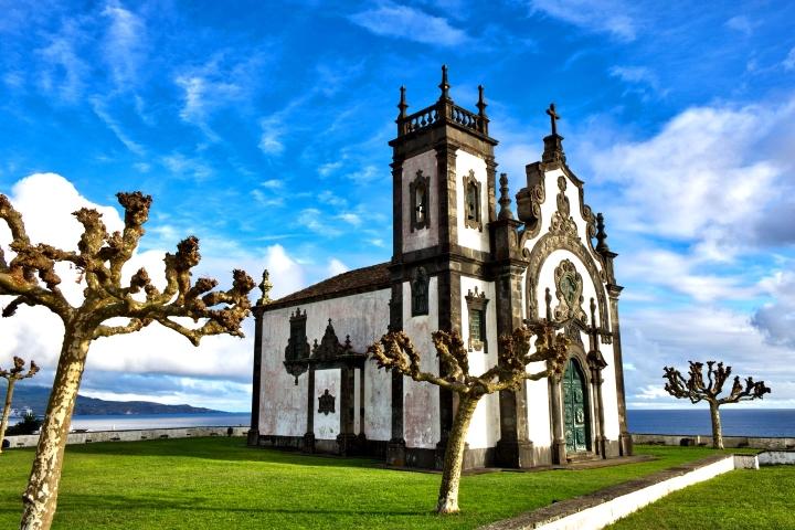 Азори- Сао Мигел - църква