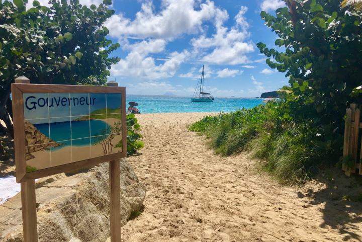 Кариби - плаж - яхта
