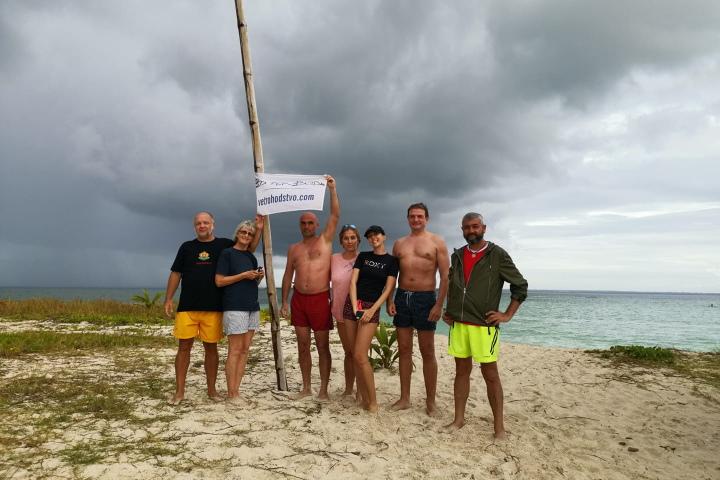 Кариби - остров - екипаж