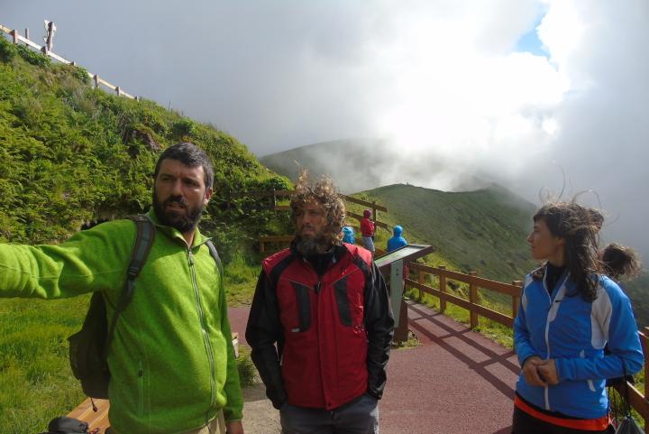 Кратера на вулкана на остров Фаял