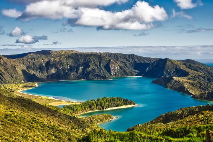 Азори - Сао Мигел - езеро