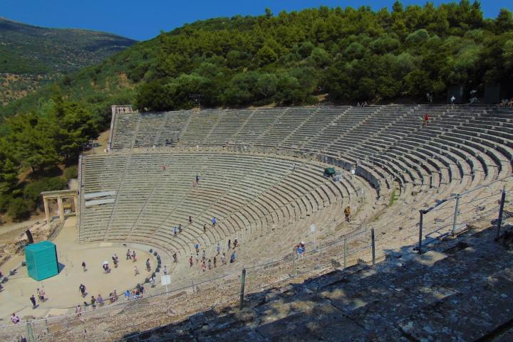 Саронически залив - Епидаврос - античен театър