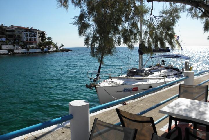 Северно Егейско море - Тасос - Скала Марион - яхта