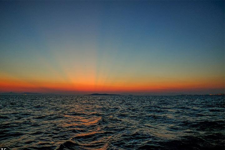 море - изгрев