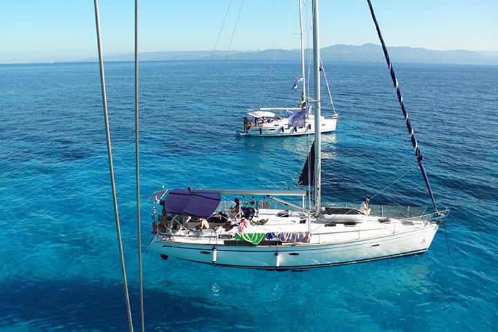 Северно Йонийско море - яхта